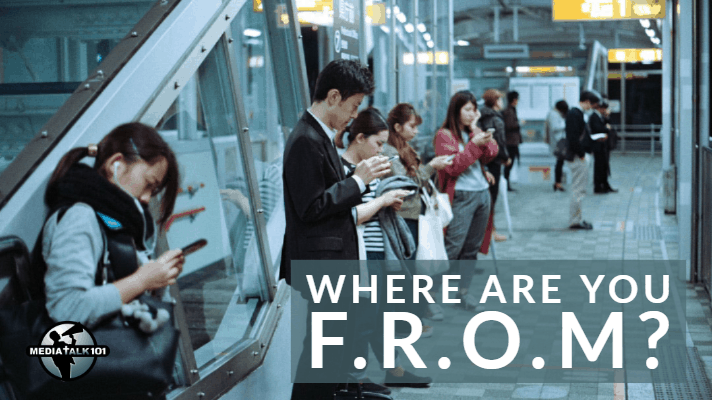 Where Are You F.R.O.M.? A Tool For Conversation